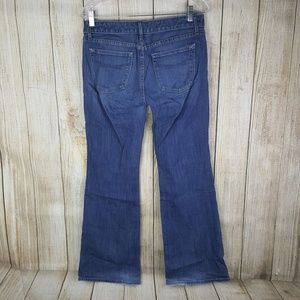 Gap 1969 Curvy Flare Jeans Womens Size 6